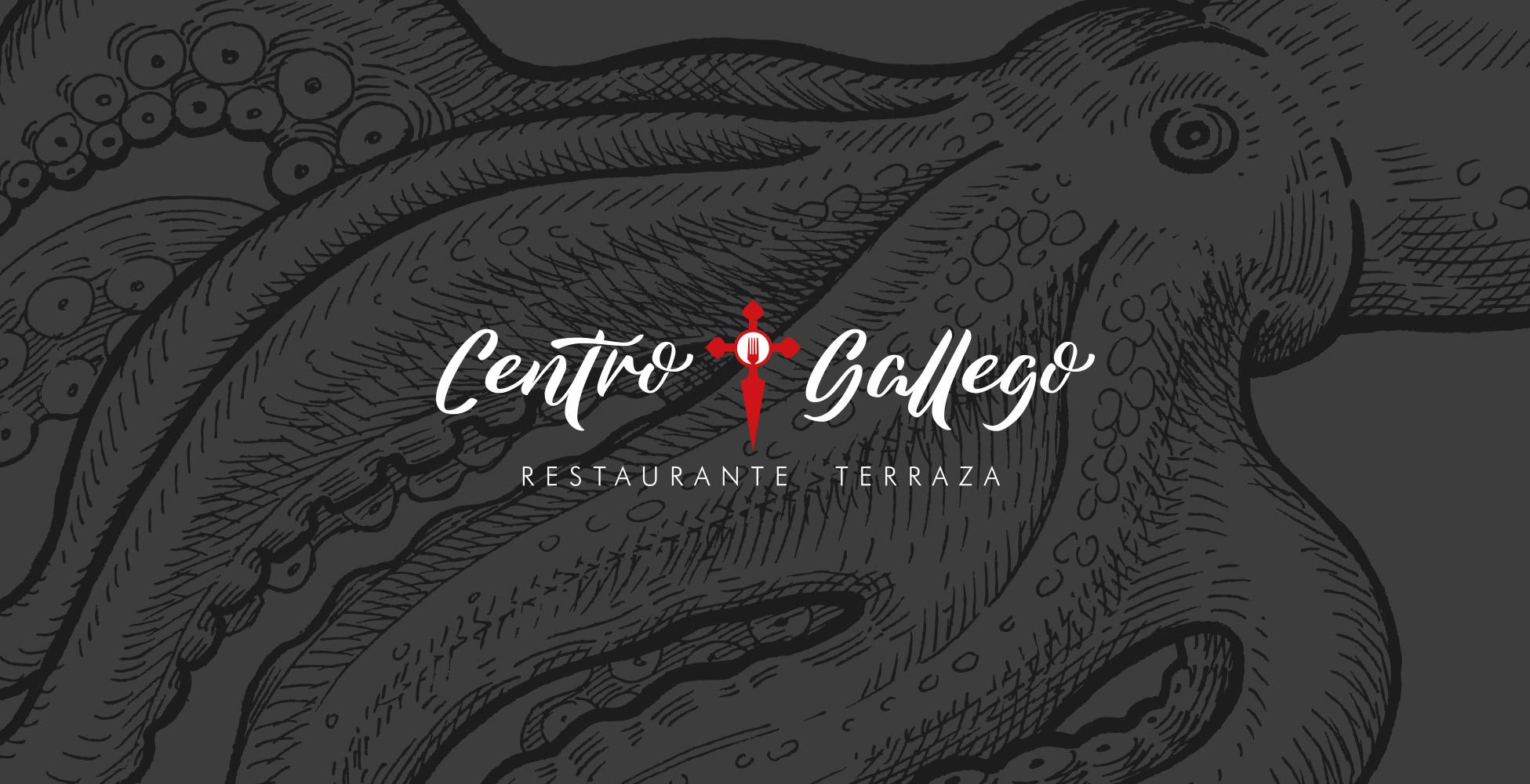 Centro Gallego Restaurante Terraza Branding Fans Marketing MÁLAGA