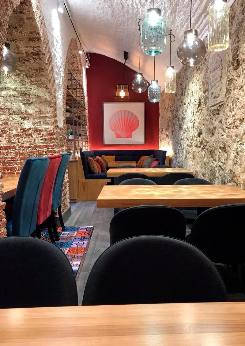 Centro Gallego Restaurante Terraza Interiorismo Fans Marketing
