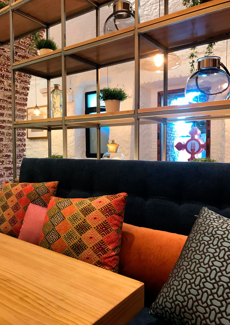 Centro Gallego Restaurante Terraza Interiorismo Fans Marketing MÁLAGA