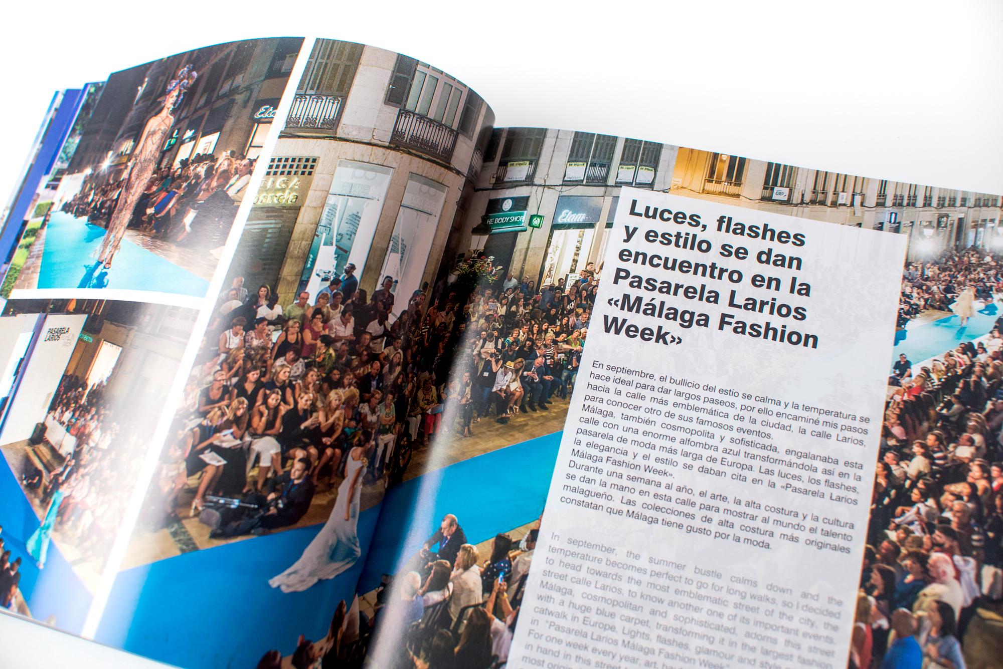 Málaga Ciudad Genial Diseño Editorial Fans Marketing MÁLAGA