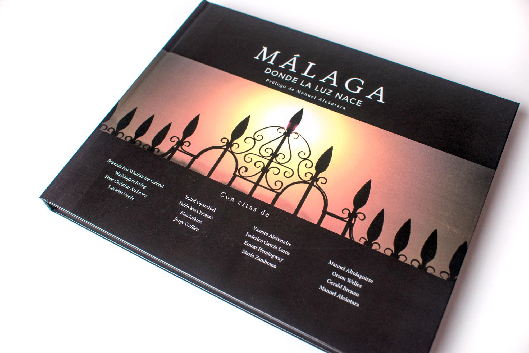 Málaga, donde la luz nace - Diseño Editorial - FANS MARKETING MÁLAGA
