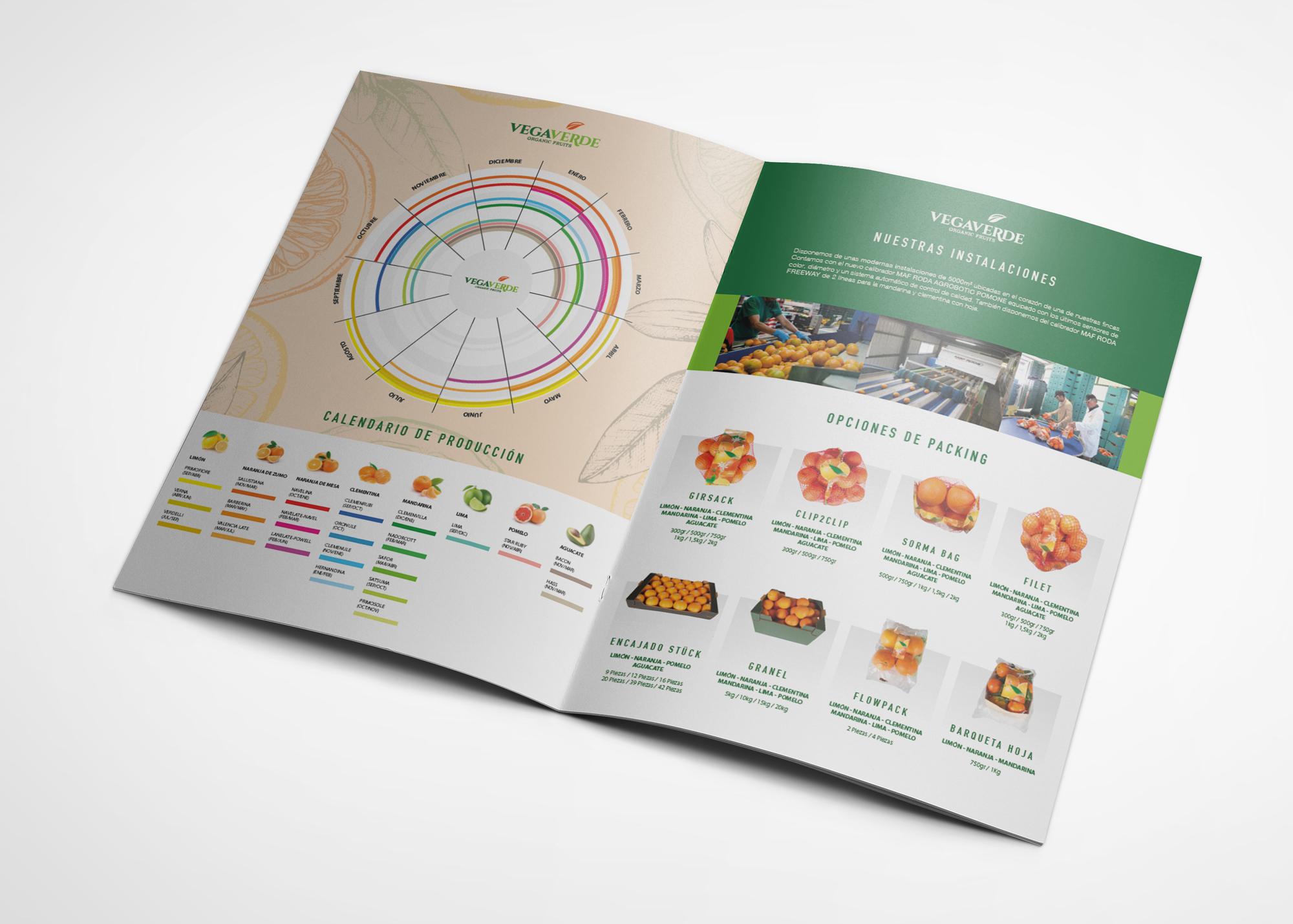 Vegaverde Brochure Fans Marketing Málaga