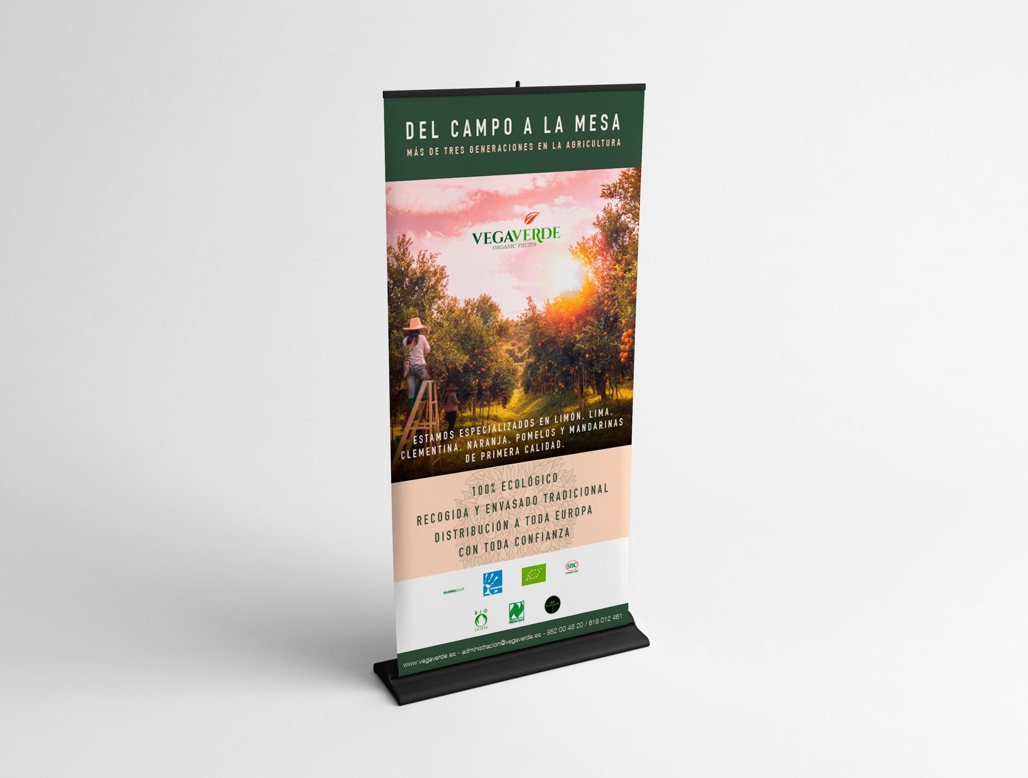 Vegaverde RollUp Fans Marketing Málaga