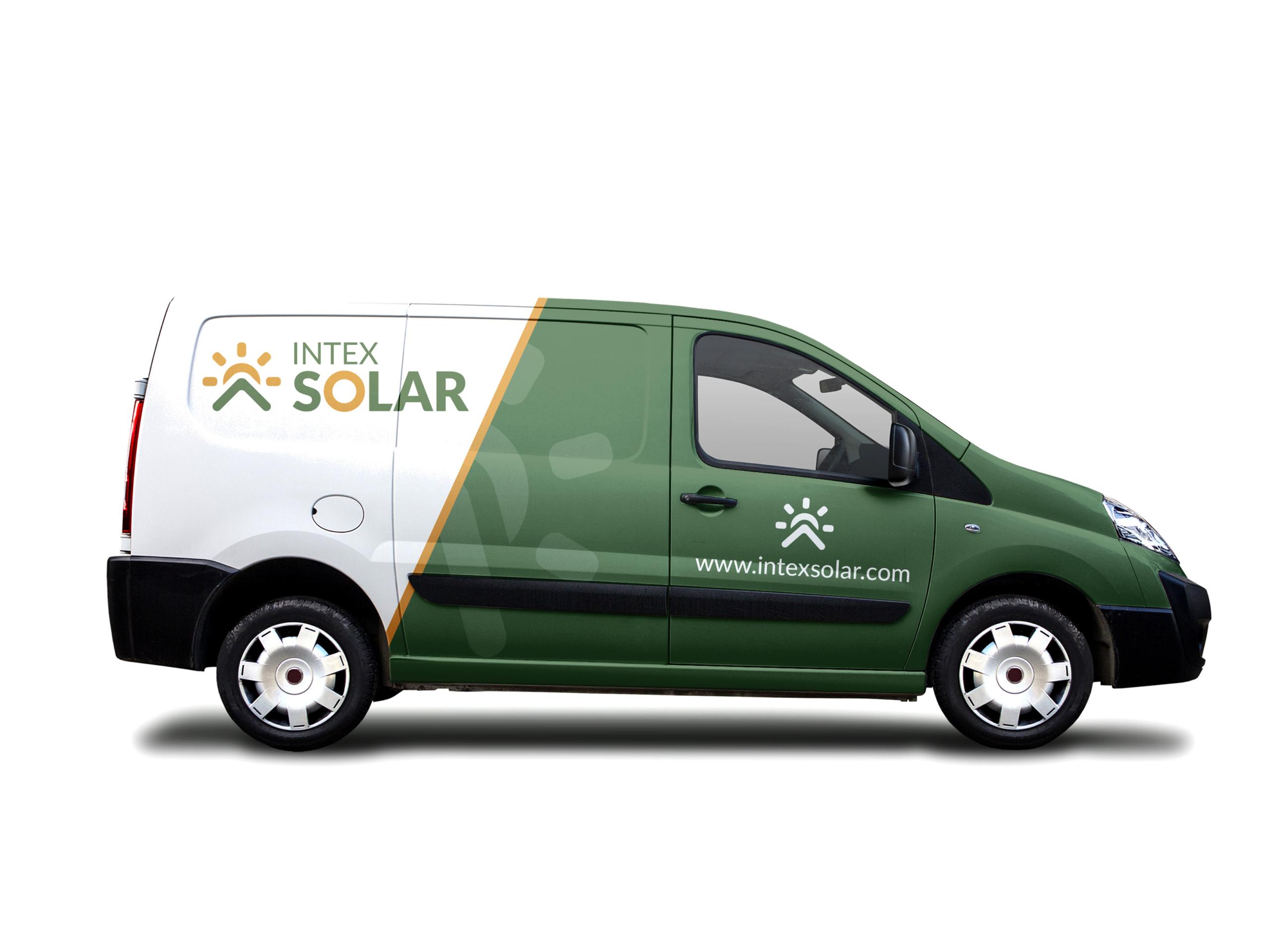 Diseño Rotulación Vehículo Intexsolar Fans Marketing MÁLAGA