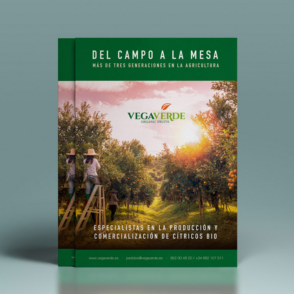Brochure VegaVerde Fans Marketing MÁLAGA