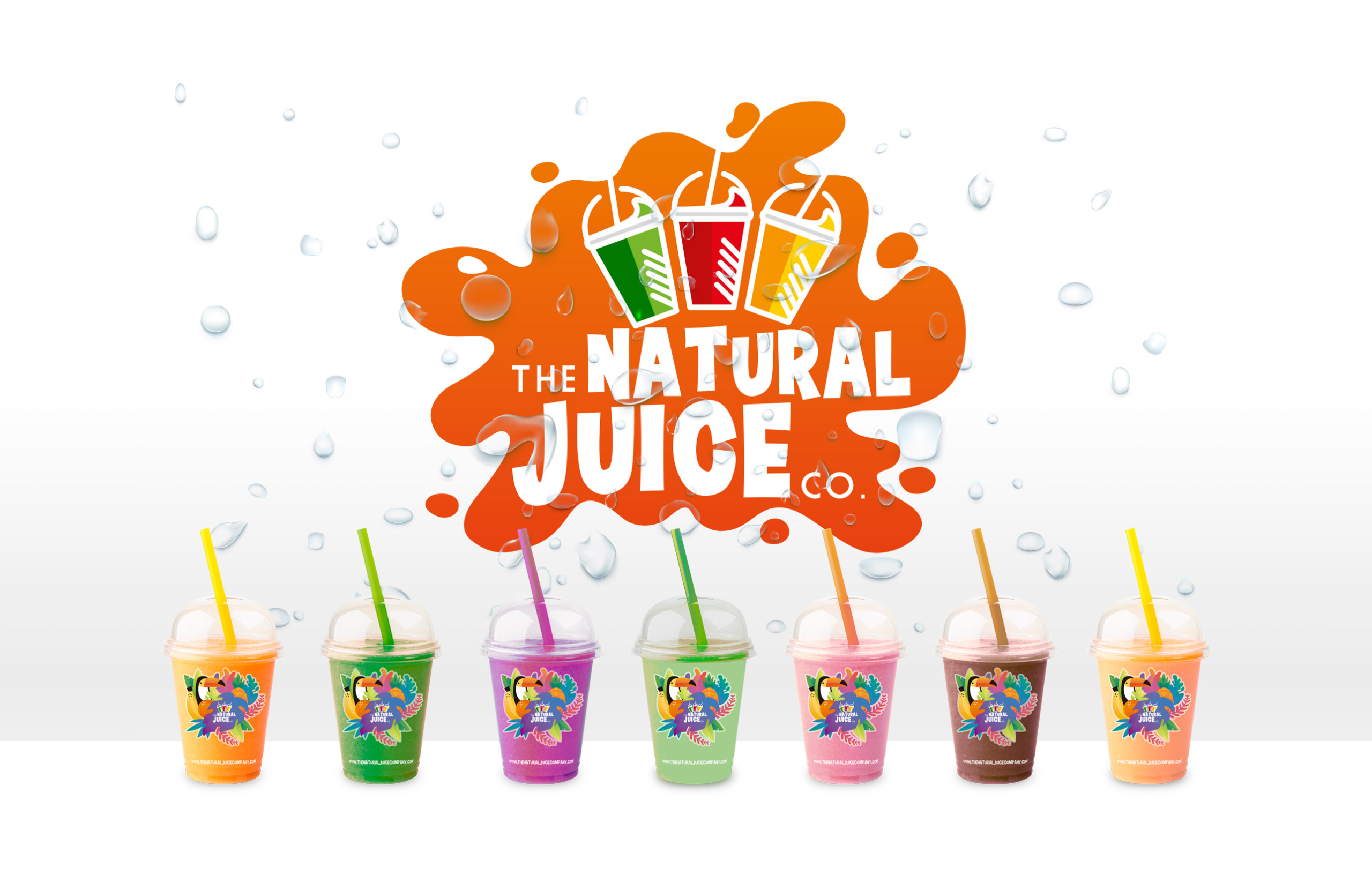 Marca Producto The Natural Juice Company FANS Marketing Málaga